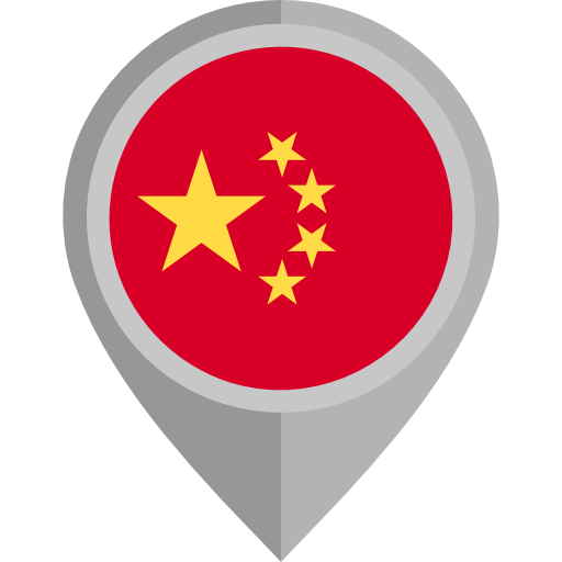 China Flag Pin