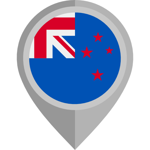 New Zealand Flag Pin