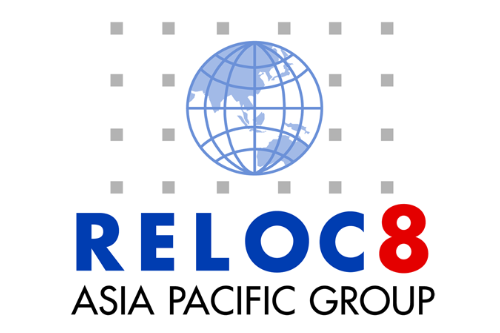 Reloc8 Asia Pacific Group Logo