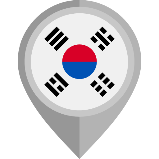 Korea Flag Pin